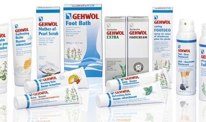 Продукция Gehwol