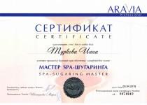Сертификаты Инны0001